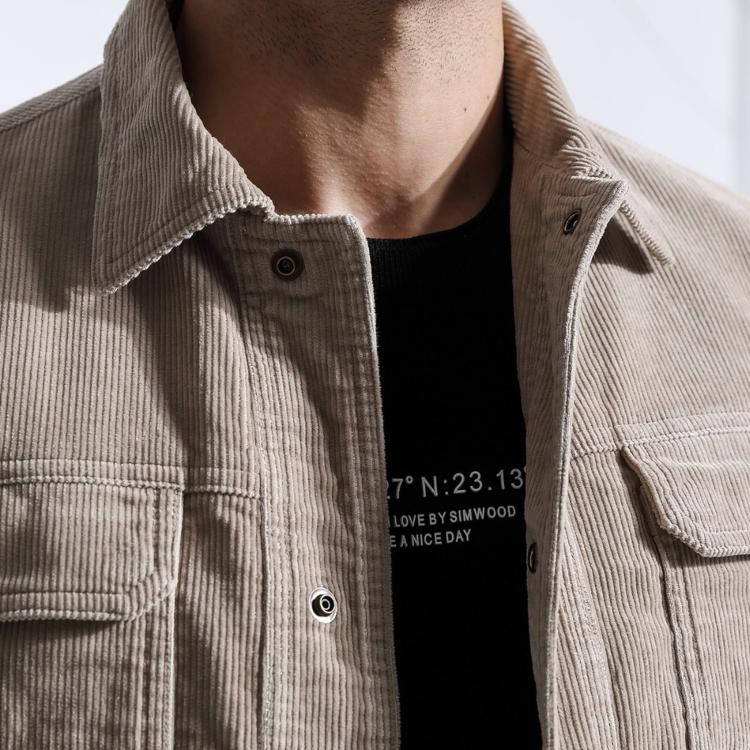 6 gợi ý phối đồ phong cách cùng chất liệu vải nhung tăm (Corduroy) - Hình 1