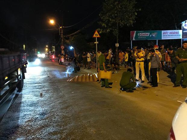 Đại úy cảnh sát hình sự thiệt mạng trên đường về nhà - Hình 1