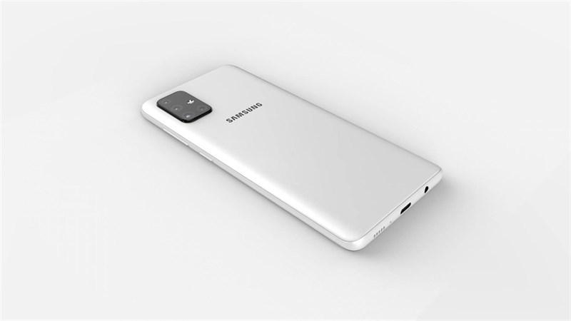 Galaxy A71 lộ ảnh với 4 camera sau hình chữ L, màn hình giống Galaxy Note 10 - Hình 1