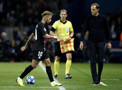Ham vui, Neymar lại khiến HLV Thomas Tuchel phiền lòng - Hình 1