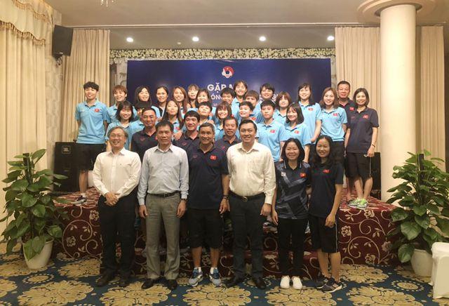Hôm nay, U22 và đội tuyển nữ Việt Nam lên đường dự SEA Games 30 - Hình 2