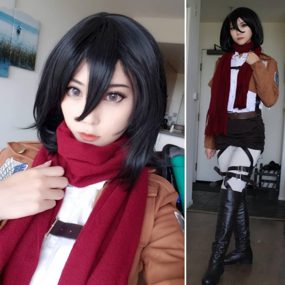 Liệu nàng cosplayer có thả được hồn vào đôi mắt như Mikasa? - Hình 2