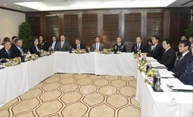Mỹ kêu gọi Nhật - Hàn cân nhắc kỹ quyết định chấm dứt GSOMIA - Hình 1