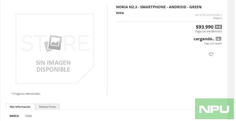 Nokia 2.3 lộ thông tin bộ nhớ và giá bán hấp dẫn như Nokia 2.2 - Hình 1