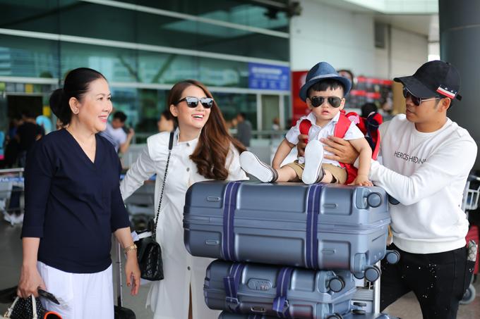 Thanh Bình đưa con trai về thăm mẹ Ngọc Lan hậu ly hôn - Hình 6