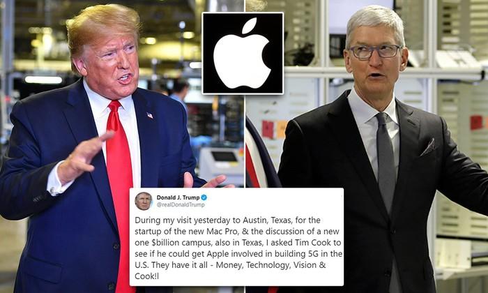 Tổng thống Trump muốn Apple tham gia xây dựng mạng 5G cho Hoa Kỳ - Hình 2