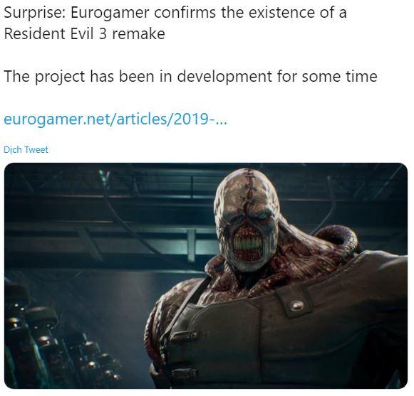 Resident Evil 3 Remake sẽ có trailer mới - Hình 1
