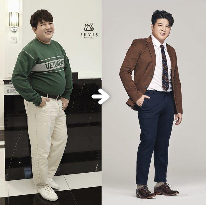 Shindong (Super Junior) giảm 17 cân, Heechul và Siwon lập tức chúc mừng - Hình 1