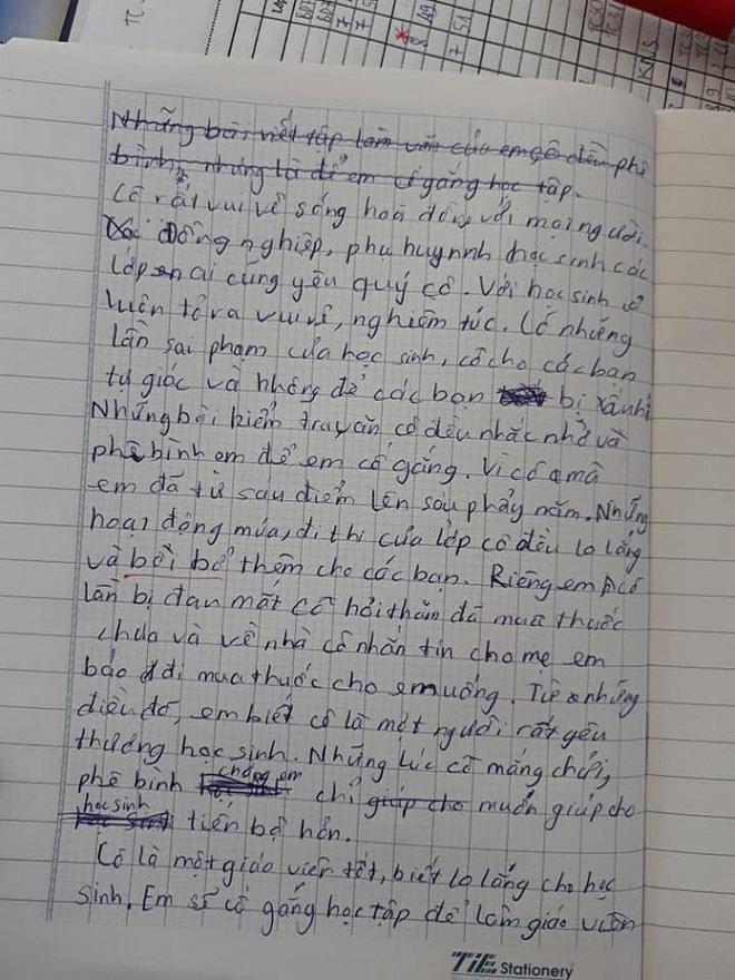 Bài văn biểu cảm về cô giáo khiến người đọc cười ra nước mắt - Hình 2