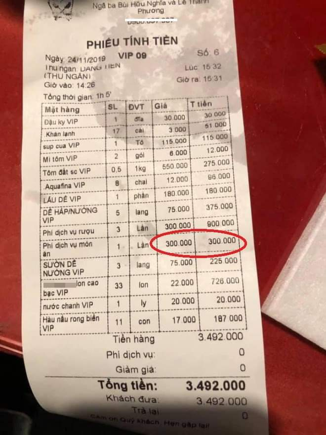 Bị tố thu phí hấp gà 300 nghìn/lần, chủ nhà hàng: Chỉ là hiểu nhầm - Hình 1