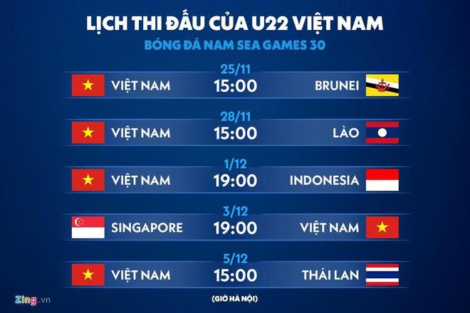 Đức Chinh đá chính, Quang Hải dự bị ở trận ra quân SEA Games 30 - Hình 2