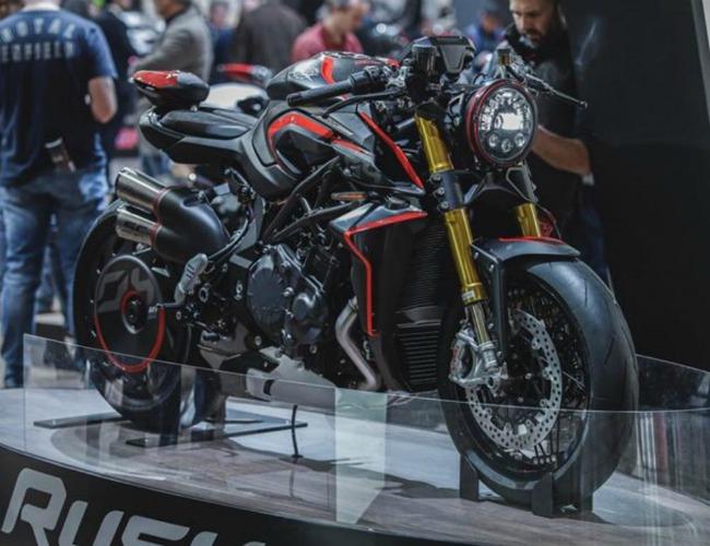 Ngắm 2020 MV Agusta Rush 1000 đè bẹp quỷ đỏ Ducati Streetfighter V4 S - Hình 1