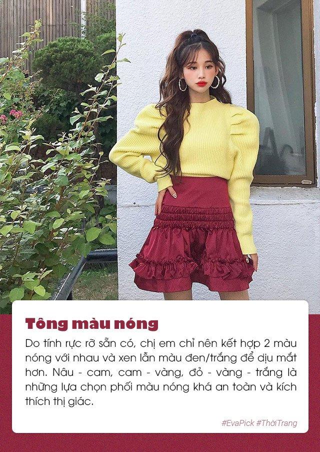 6 bí quyết phối màu trang phục hot nhất Hàn Quốc - vừa nịnh da vừa đẹp mắt - Hình 1
