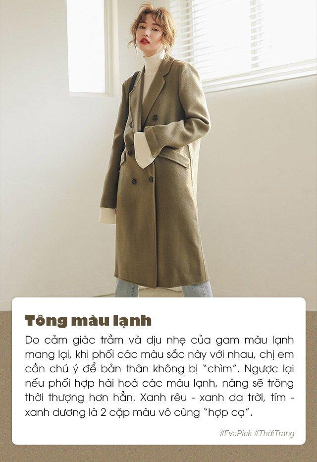 6 bí quyết phối màu trang phục hot nhất Hàn Quốc - vừa nịnh da vừa đẹp mắt - Hình 2