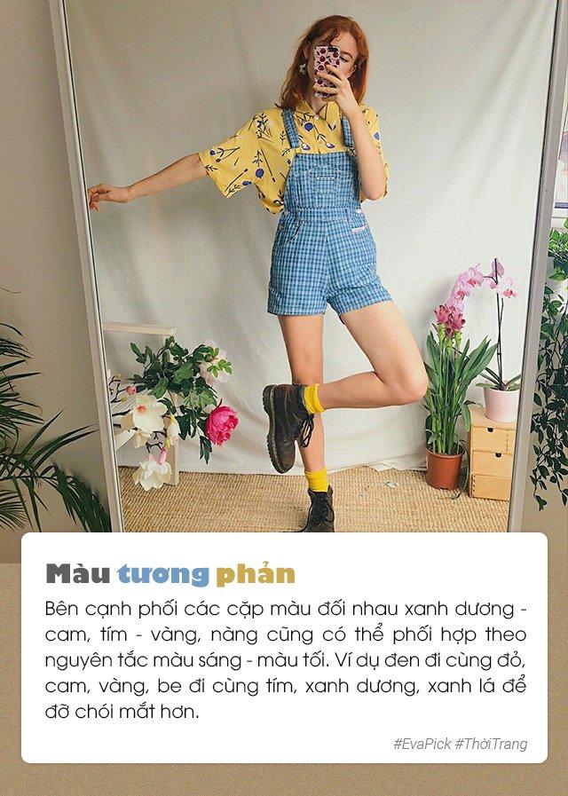 6 bí quyết phối màu trang phục hot nhất Hàn Quốc - vừa nịnh da vừa đẹp mắt - Hình 4