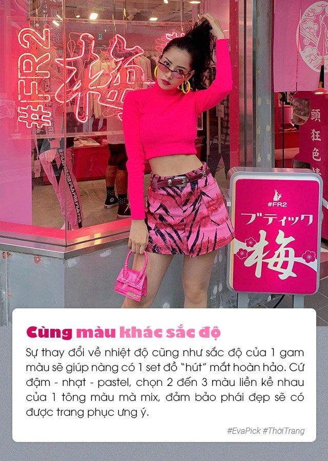6 bí quyết phối màu trang phục hot nhất Hàn Quốc - vừa nịnh da vừa đẹp mắt - Hình 6