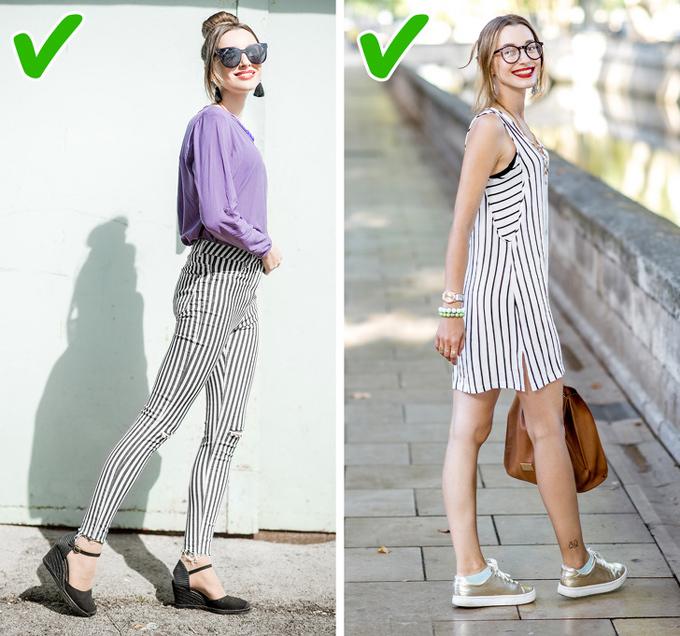 8 bí quyết mặc đồ giúp kéo dài đôi chân - Hình 3