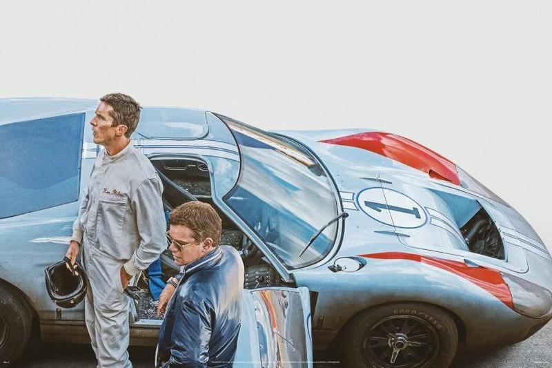 Trailer Ford and Ferrari, mãn nhãn với sức mạnh của chiến mã huyền thoại GT Mark II - Hình 1
