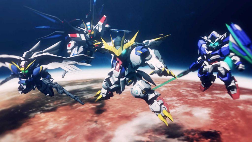 Gundam G Generation Cross Rays vừa ra mắt trên Steam - Hình 1