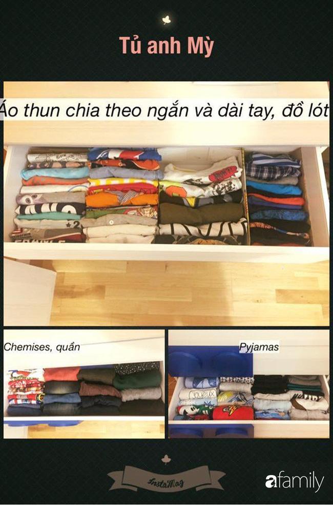 Mẹ Việt học người Nhật cách lưu trữ quần áo rất thành công giúp nhà cửa luôn gọn gàng và sạch đẹp - Hình 2