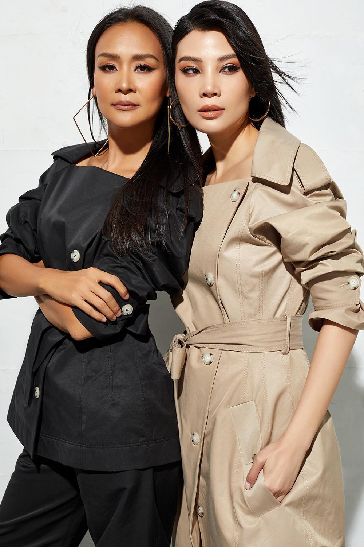 2 cựu siêu mẫu Vũ Cẩm Nhung và Bảo Ngọc đọ sắc đẹp quyến rũ - Hình 4