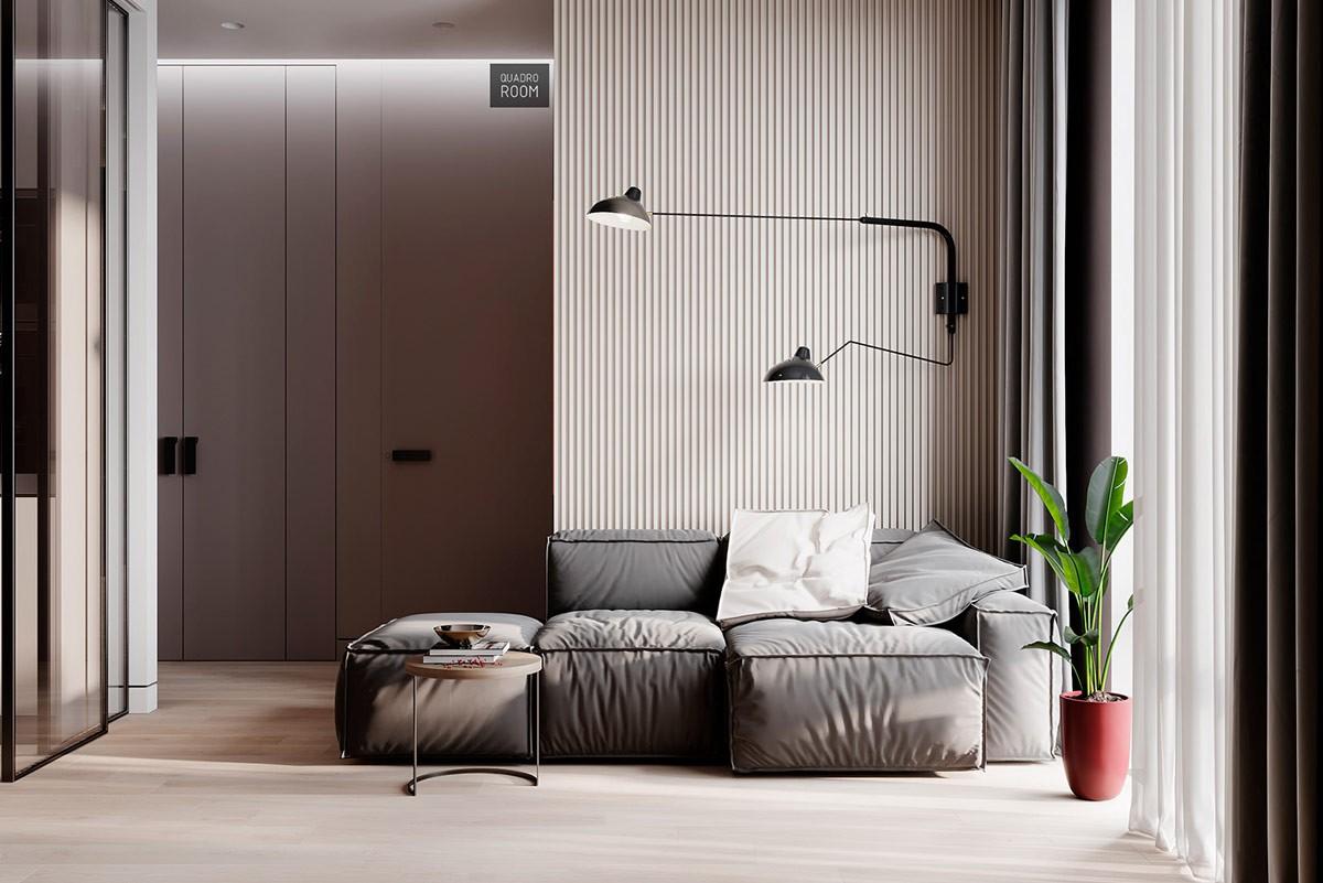 Căn hộ 2 phòng ngủ sử dụng nội thất sang trọng - Hình 2
