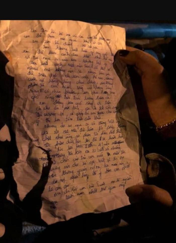 Đau lòng lá thư tuyệt mệnh người mẹ ném con xuống sông rồi tự tử: Mẹ là người khốn nạn nhất thế gian này - Hình 1