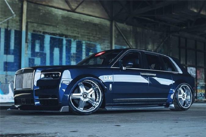 Lác mắt trước vẻ đẹp của siêu xe Rolls-Royce Cullinan phiên bản DUB - Hình 2
