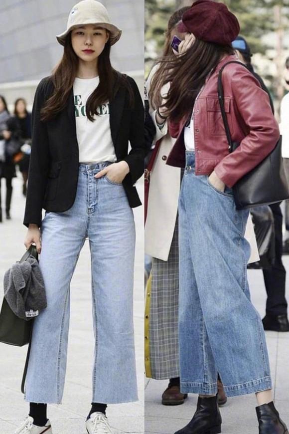 Diện quần jeans mùa thu đông: Sẽ cực đẹp và khí chất thời trang nếu mix theo cách này - Hình 5
