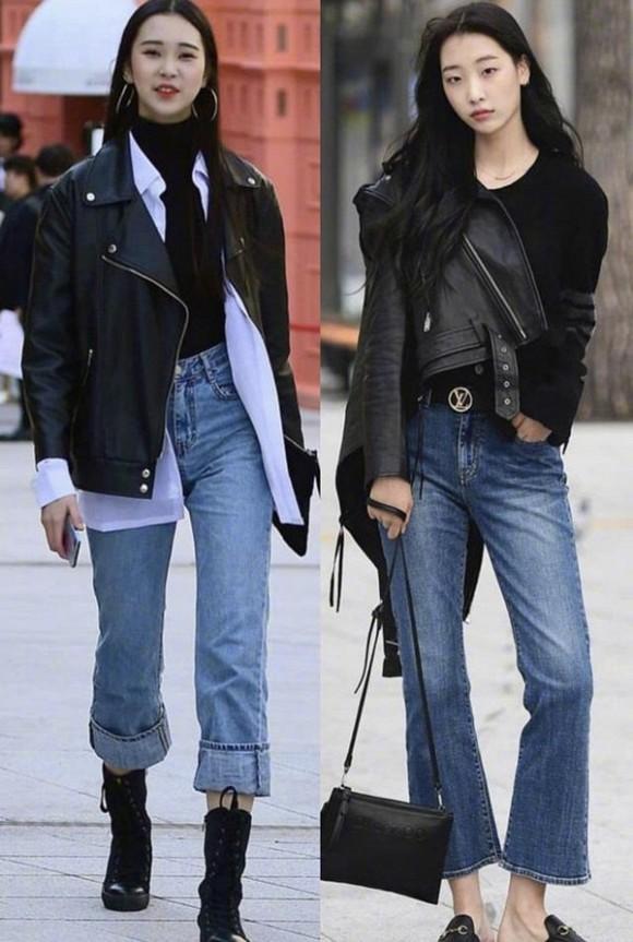 Diện quần jeans mùa thu đông: Sẽ cực đẹp và khí chất thời trang nếu mix theo cách này - Hình 6
