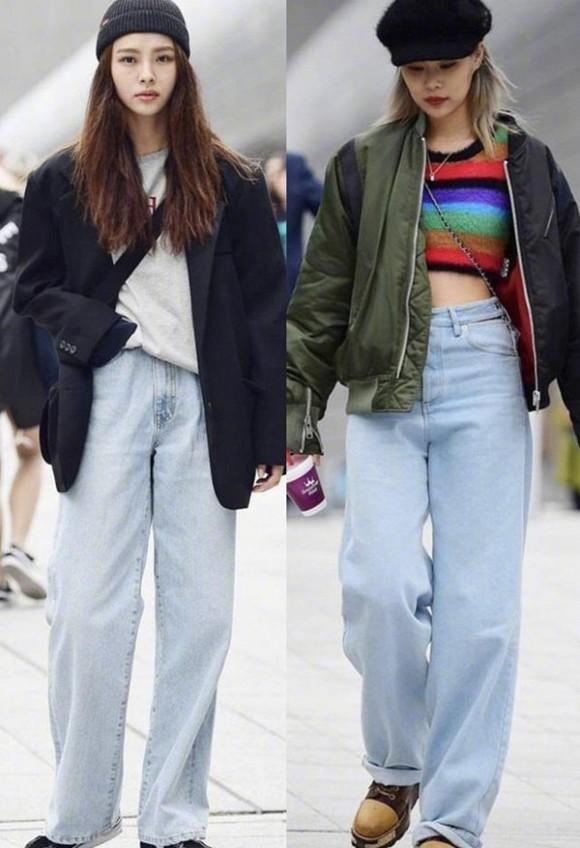 Diện quần jeans mùa thu đông: Sẽ cực đẹp và khí chất thời trang nếu mix theo cách này - Hình 2
