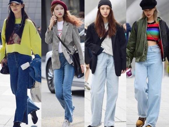 Diện quần jeans mùa thu đông: Sẽ cực đẹp và khí chất thời trang nếu mix theo cách này - Hình 1