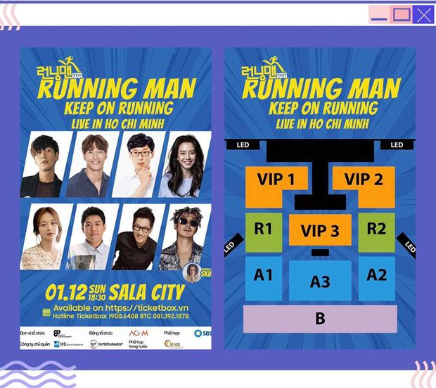 Running Man Hàn Quốc chính thức xác nhận về fan meeting tại Việt Nam, giá vé mềm hơn Indonesia - Hình 1