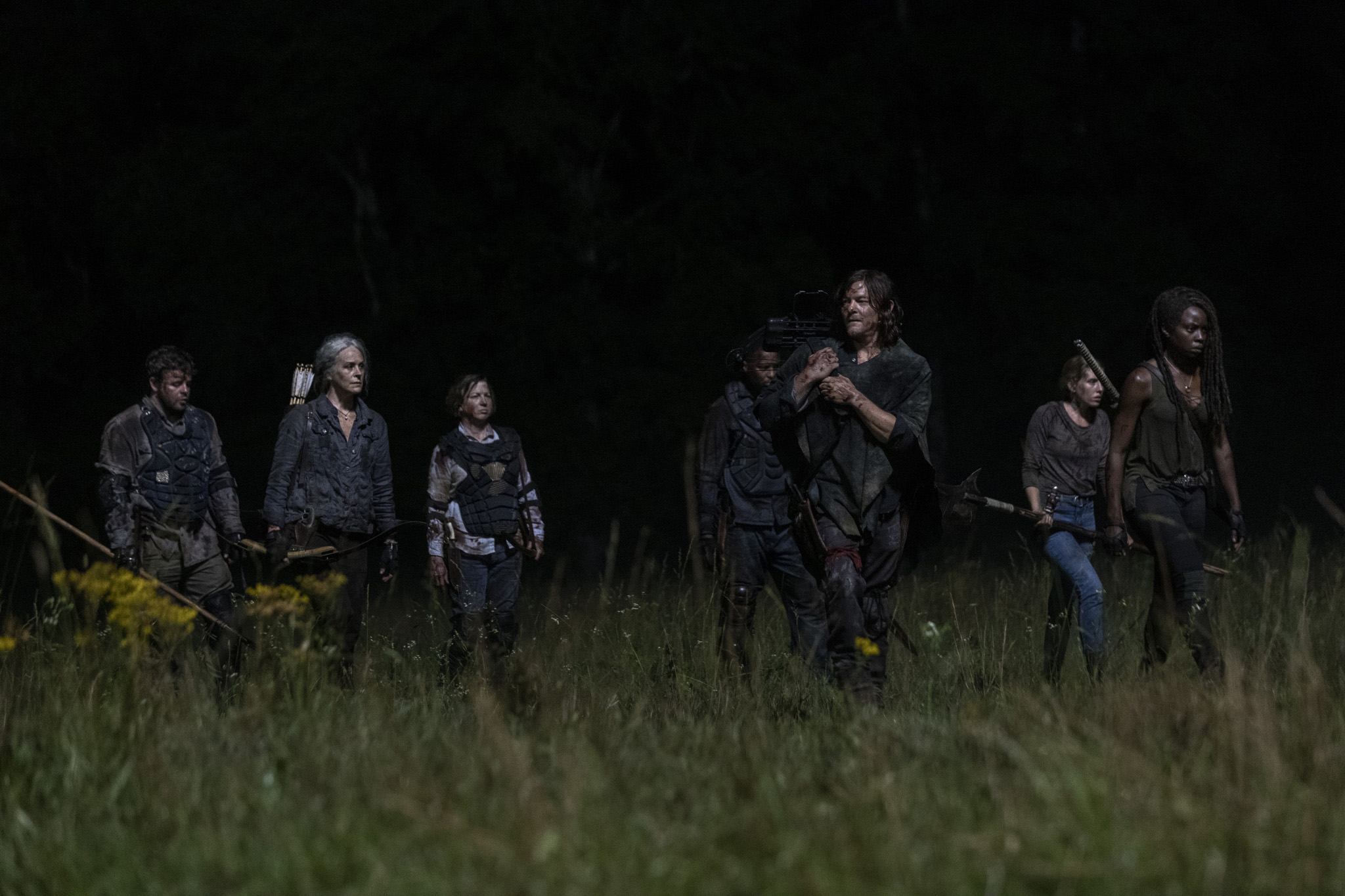 The Walking Dead Season 10 Tập 3 - Khi những bóng ma từ quá khứ hiện về - Hình 1