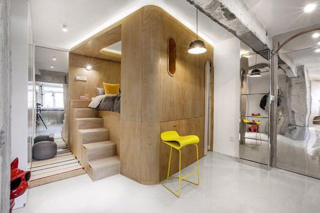 Căn hộ 48m² vừa ấn tượng với phòng ngủ phá cách vừa độc đáo trong cách dùng màu sắc trang trí - Hình 1