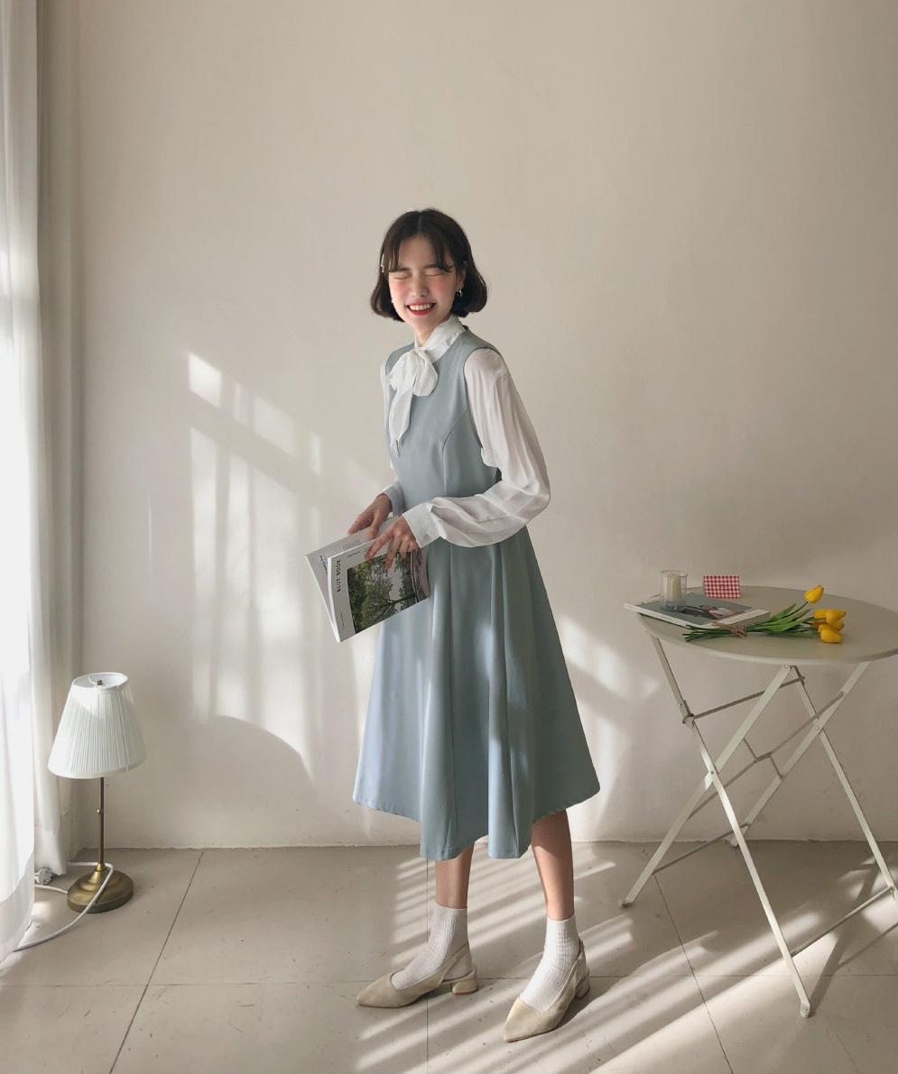 Diện mẫu váy áo đậm chất tiểu thư này, trông bạn sẽ quý phái và yêu kiều hệt như các mỹ nhân Kbiz vậy - Hình 16