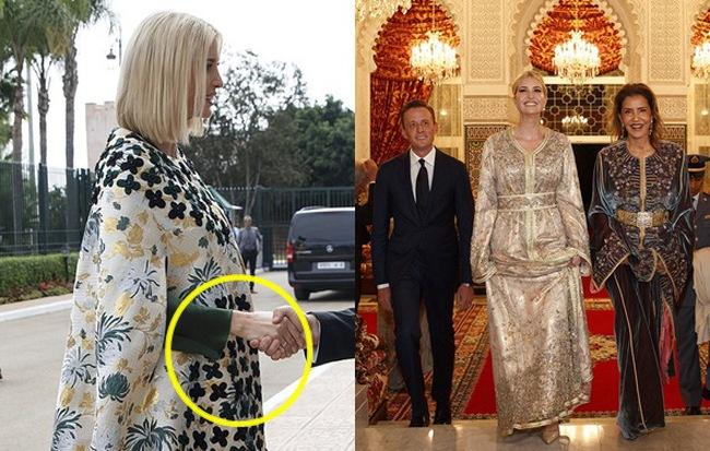 Dự tiệc tại cung điện hoàng gia, Ivanka Trump bị chê xuống sắc với vẻ ngoài kỳ lạ, nghi vấn mang thai lần 4 - Hình 1