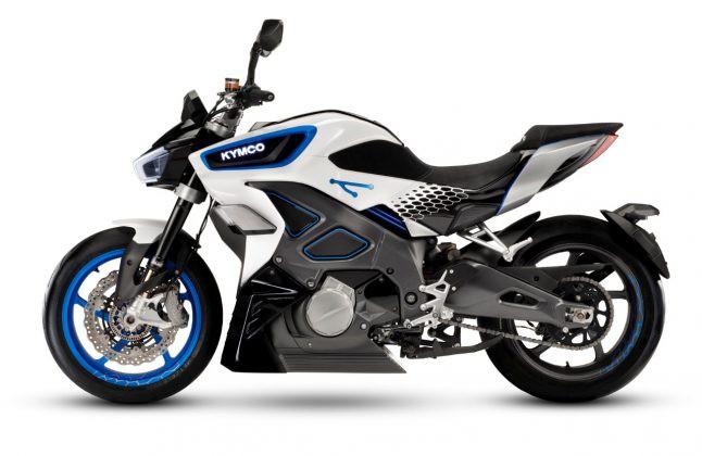 Kymco ra mắt môtô điện, tăng tốc 0-100 km/h trong 3,9 giây - Hình 1