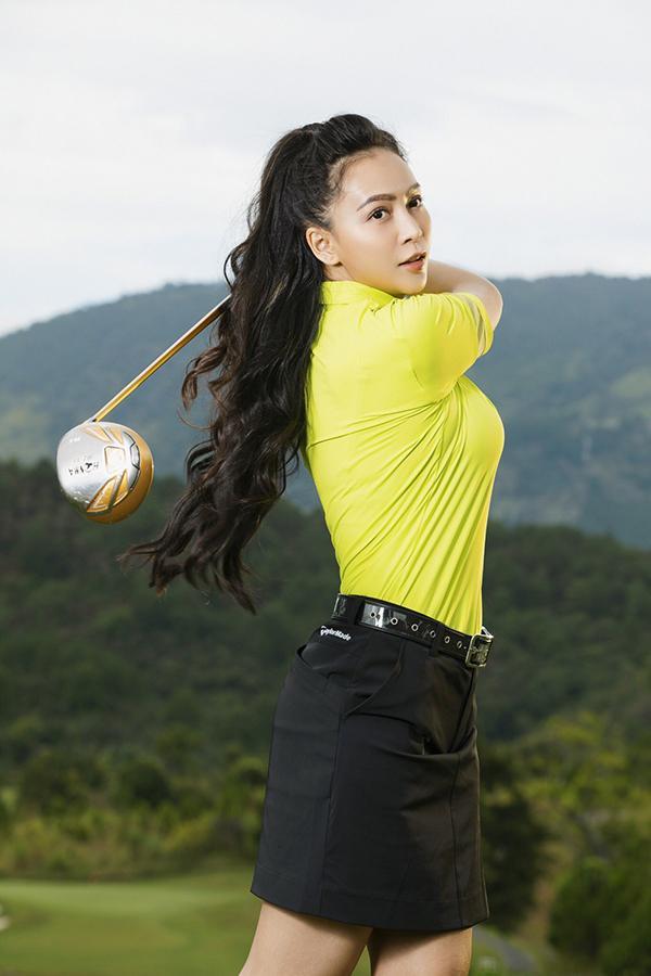 Mỹ Ngọc Bolero gợi ý thời trang tập golf - Hình 2