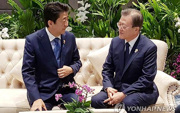 Nhật - Hàn cải thiện quan hệ - Hình 1