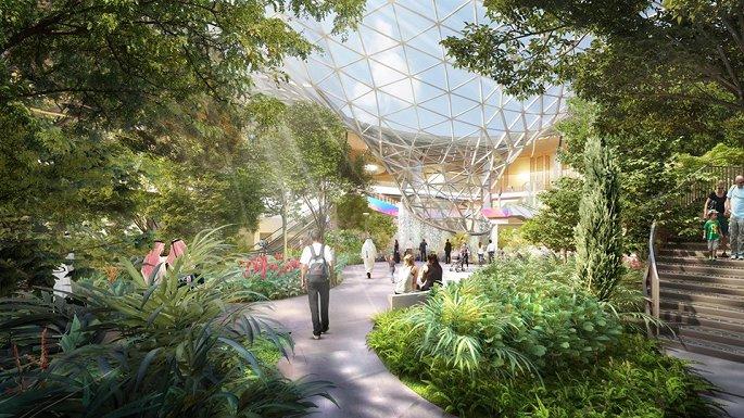 Thiết kế độc lạ của nhà ga sân bay Changi Singapore bị tố đạo ý tưởng - Hình 2