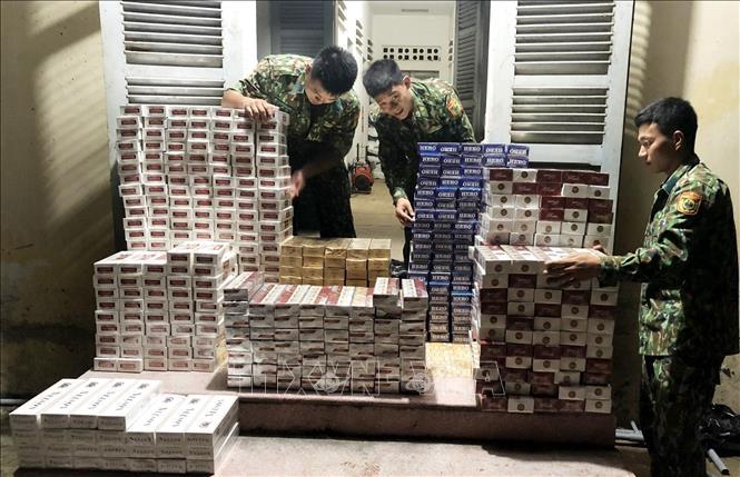 Thu giữ 5.700 gói thuốc lá điếu nhập lậu - Hình 1