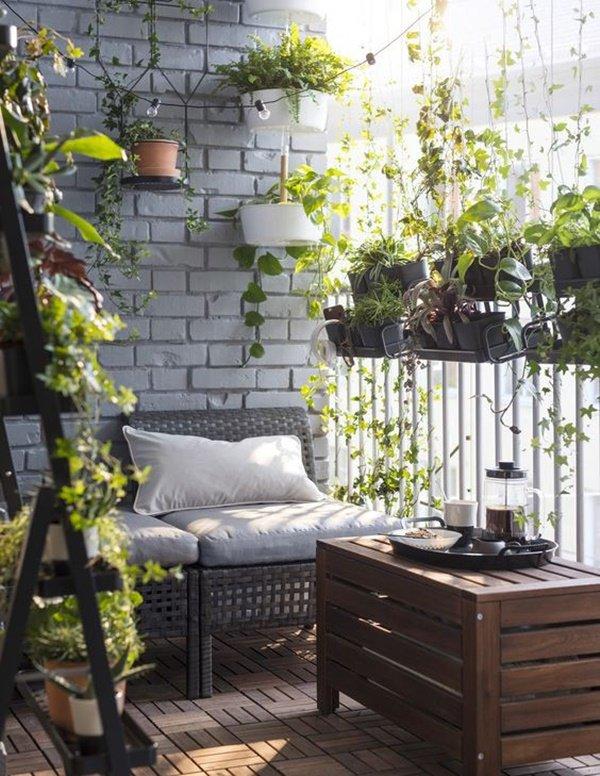 6 ý tưởng trang trí ban công chung cư đẹp, ai nhìn cũng mê mẩn - Hình 1