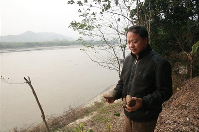 Giải mã bãi đá cổ trên sông Hồng - Hình 2