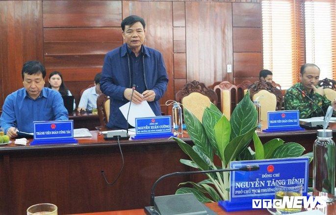 Bộ trưởng Nguyễn Xuân Cường: Bão số 6 rất phức tạp, không được chủ quan - Hình 1