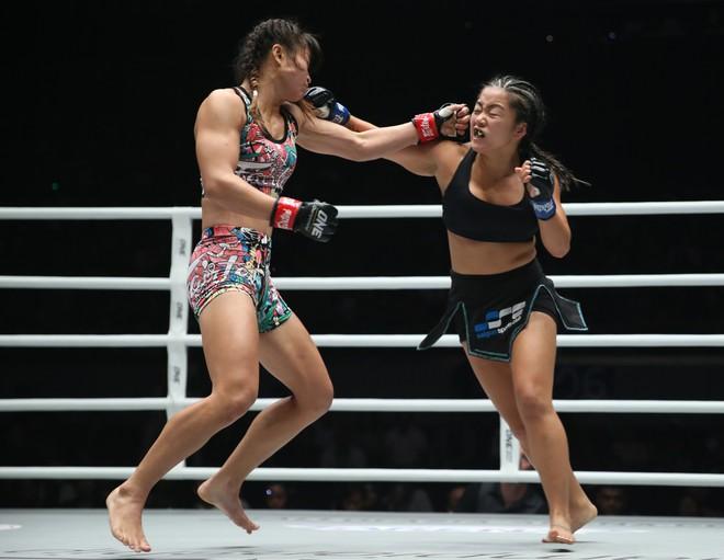 Nữ võ sĩ gốc Việt thất bại trước đối thủ Thái Lan - Hình 1