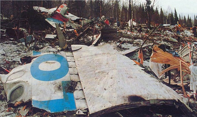 Phi công để con vào buồng lái, máy bay gặp nạn khiến 75 người thiệt mạng - Hình 1
