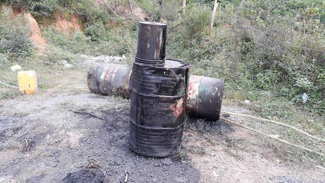 Quảng Trị: Tìm ra nơi phát tán dầu thải độc hại ra sông Hiếu - Hình 2