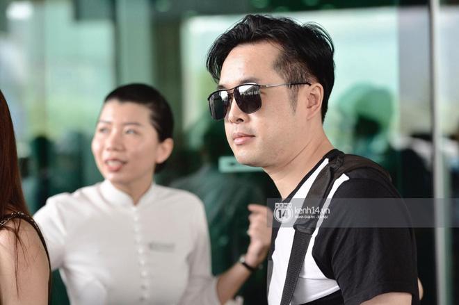 Trực tiếp tại sân bay Phú Quốc: Chưa bao giờ thấy đông nghệ sĩ như thế, ai cũng tay xách nách mang váy áo đi dự đám cưới Đông Nhi - Hình 2