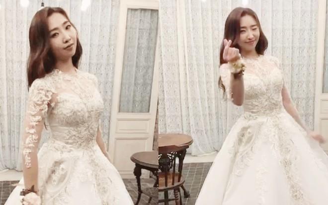 Yoona và dàn mỹ nhân Hàn trông như nữ thần khi mặc váy cưới - Hình 1